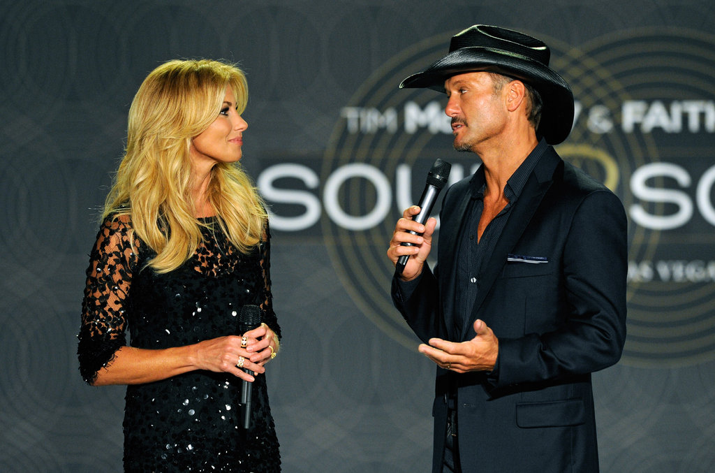 Country singers Tim McGraw and Faith Hill have been married for almost 16 years.