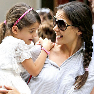 Katie Holmes and Suri Cruise Visit the Museum of Modern Art