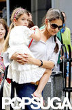 Katie Holmes spent time with her daughter, Suri Cruise.