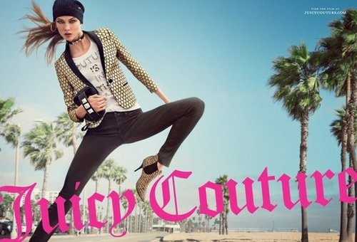 We're loving this edgier offering from Juicy Couture's latest campaign — that blazer will fit right into our Fall-minded closet.