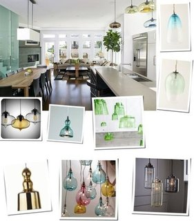 Colored Glass Pendant Lamp Shopping
