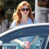 Isla Fisher and Sacha Baron Cohen Breakfast Date Pictures