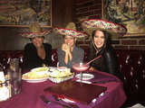 Nicole Richie got margaritas and Mexican food with Kris Jenner and Khloe Kardashian. Source: Twitter user nicolerichie