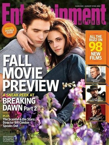 Sneak Peek at BD Part 2 in EW's Fall Preview Issue