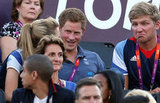 Prince Harry had fun on day 12.