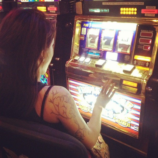 Hit the Slots at a Casino
