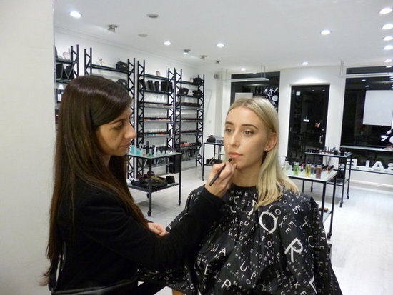 Our Beauty Editor Gets a Makeover From Make Up Store's Maria Gabriel