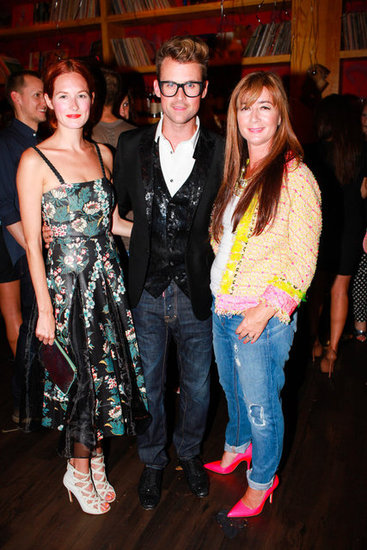 Taylor Tomasi Hill, Brad Goreski, and Deborah Lloyd