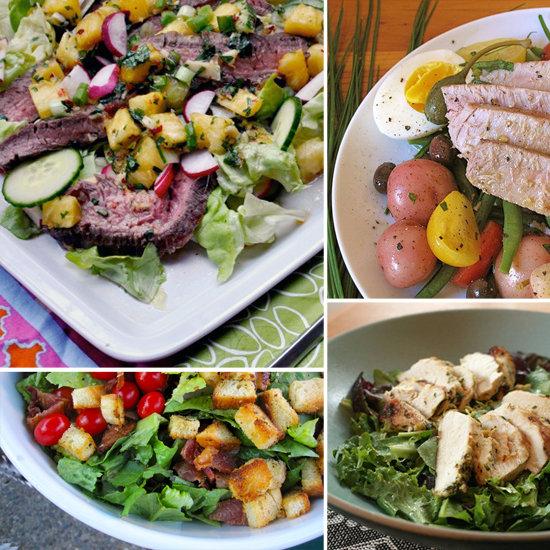 5 Satisfying Salad Entrées to Make This Week
