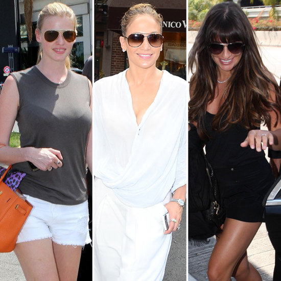 5 Celebrity-Inspired Ways to Wear Your Aviator Sunglasses Now!