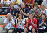 Kate Middleton, Prince Albert II, and Ambassador Robin Cousins cheered for the Olympic athletes.