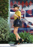 Nicole Richie Steals Away For Some Salon Time