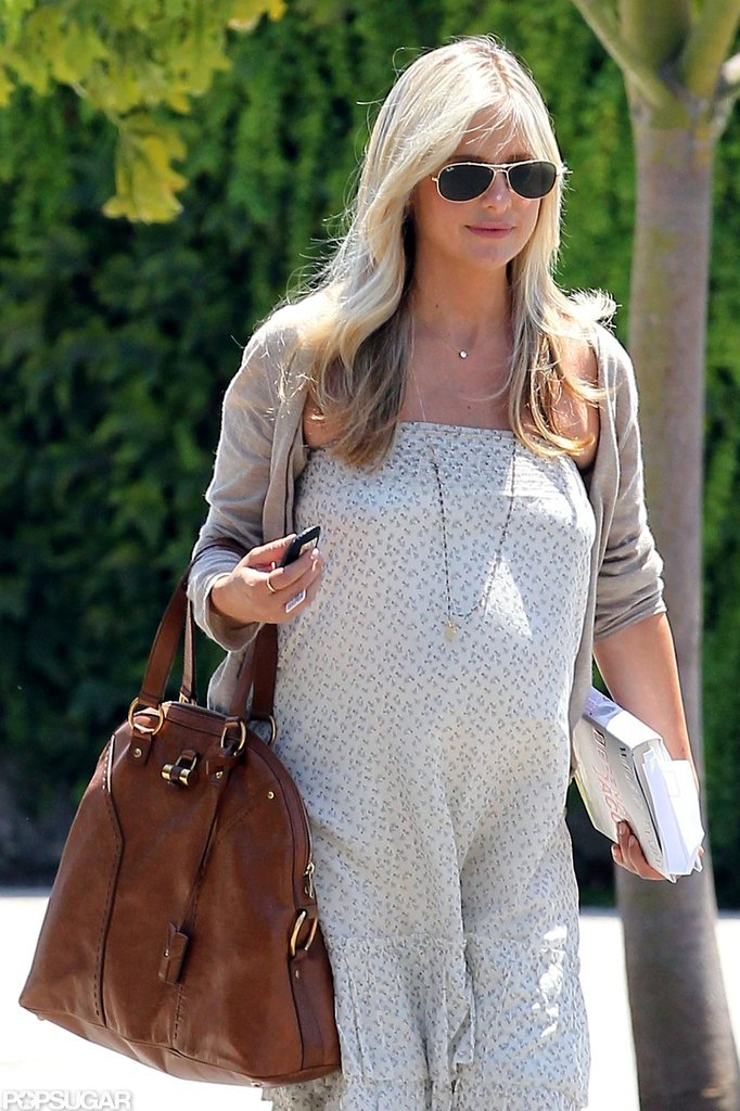 Sarah Michelle Gellar left a hair appointment in West Hollywood.