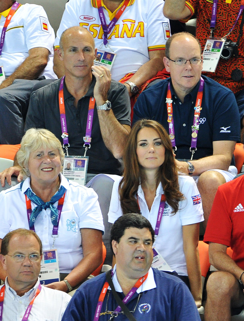 Prince William was unable to attend the Olympic event with wife Kate Middleton.