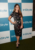 Nikki Reed struck a pose at InStyle's summer party in LA.