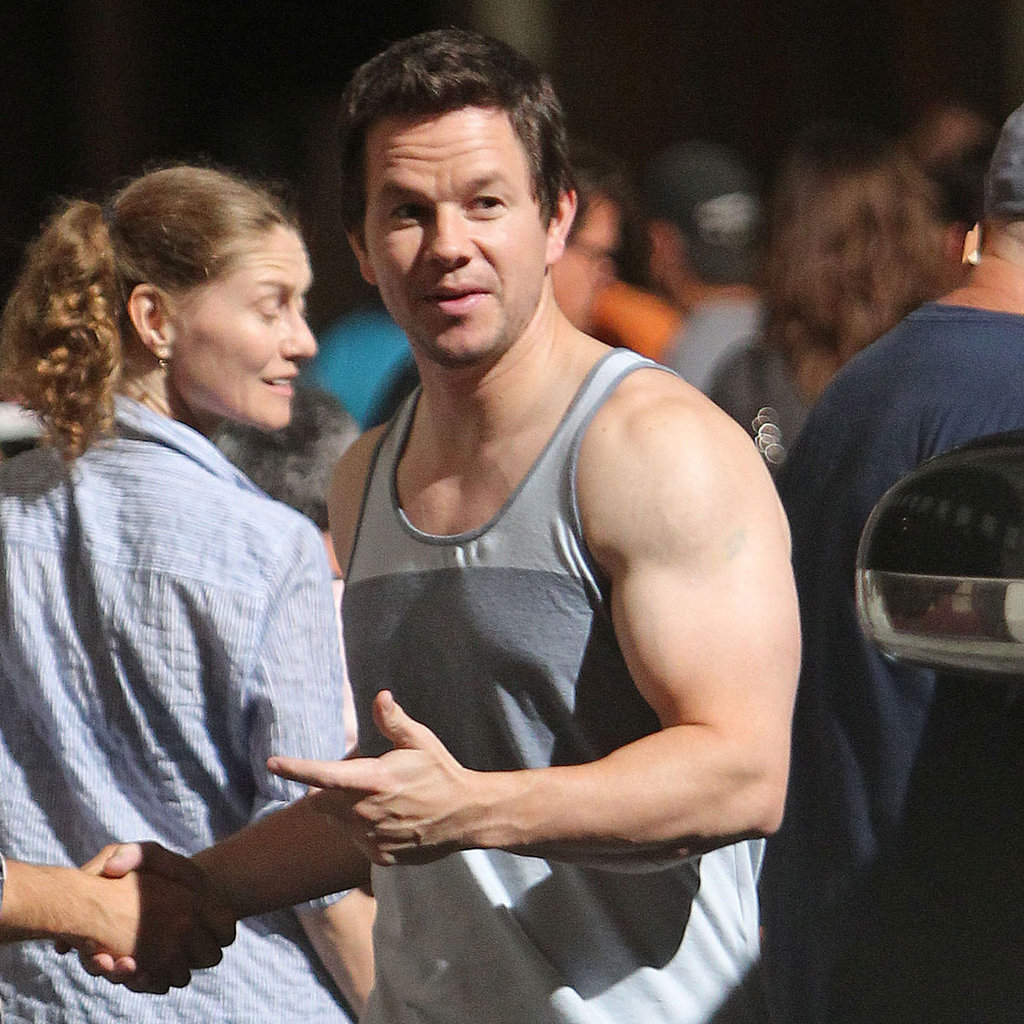 mark wahlberg body transformation mark wahlberg filming 2 guns