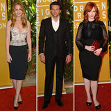 Jennifer Lawrence, Bradley Cooper, and Christina Hendricks Do Lunch