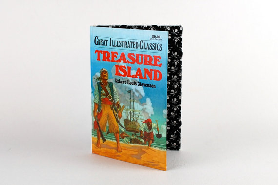Treasure Island Ereader Case ($75)