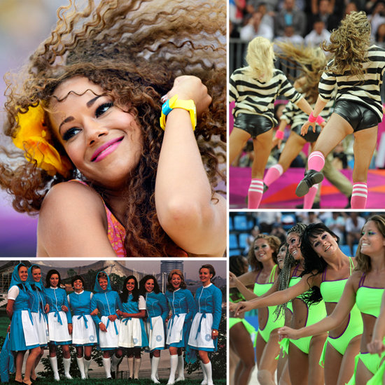Olympic Cheerleaders Root For Wins, Show Lots of Skin