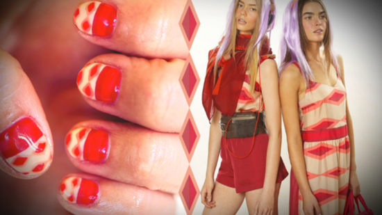 Marc by Marc Jacobs Inspires This Cool, Colorful Nail Art