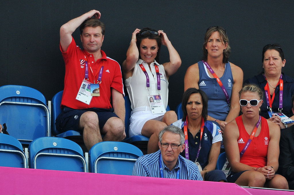 Kate Middleton Cheers On Team GB's Women's Field Hockey