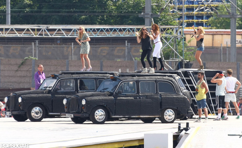See Victoria Beckham Reunite to Rehearse With the Spice Girls