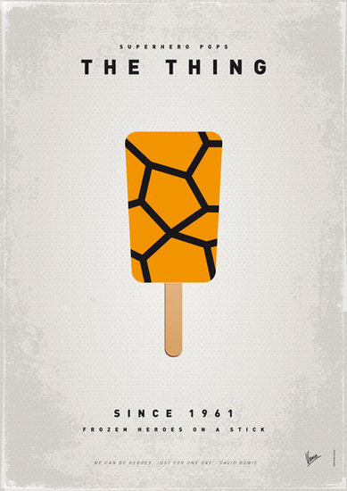 My Superhero Ice Pop: The Thing ($18 to $55)