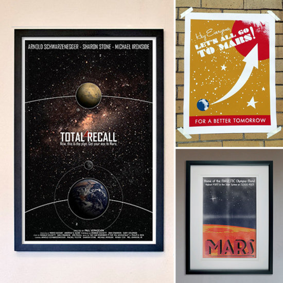 "Fill Your Home With Martian Prints ""For a Better Tomorrow"""