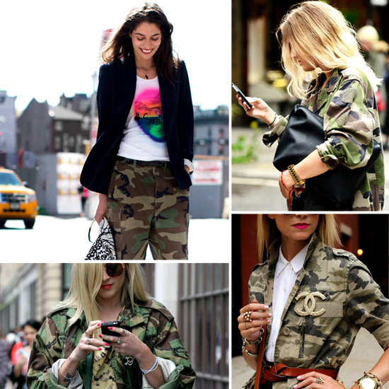 We're Feeling Fall's Camouflage Trend — Can You See Why?