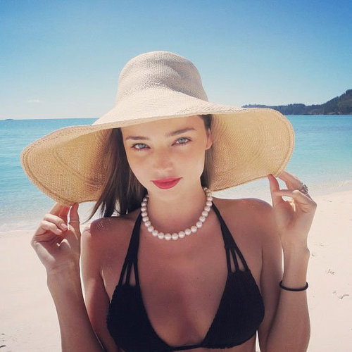 Cutest Candid Pictures from Twitter, Facebook & Instagram: Miranda Kerr, Lara Bingle, Megan Gale, Jennifer Hawkins & more