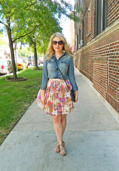 Chambray &amp; Floral Days