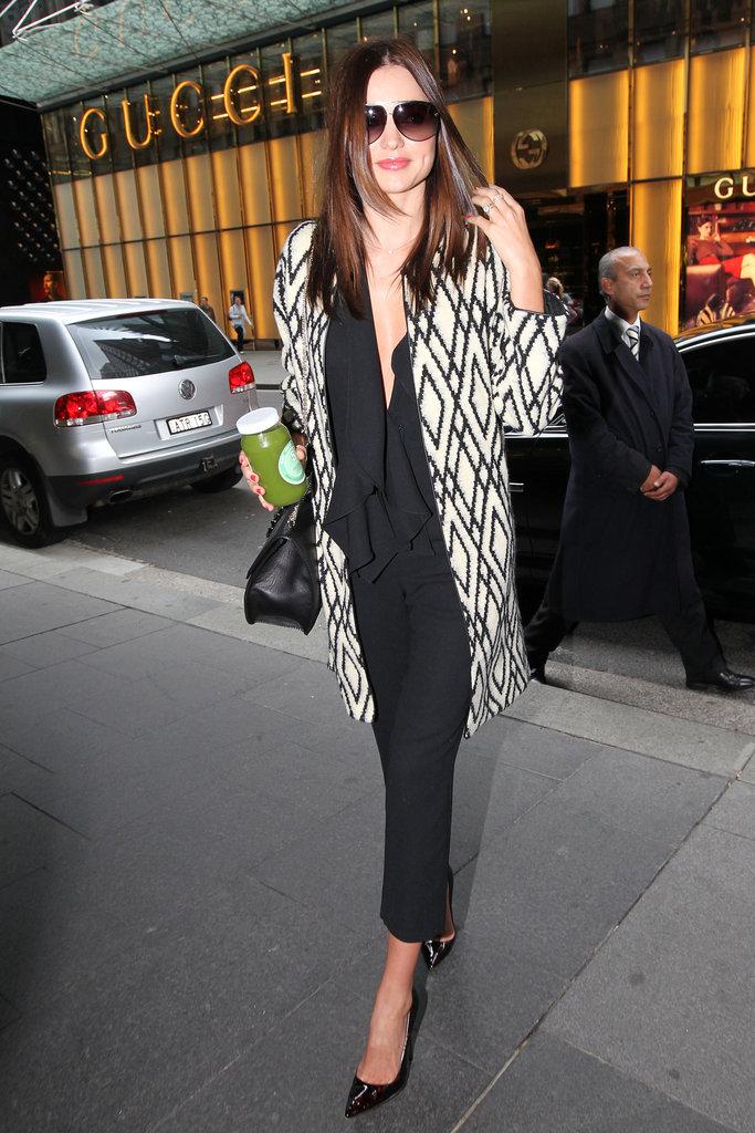 Miranda Kerr Steps Out in Style in Sydney