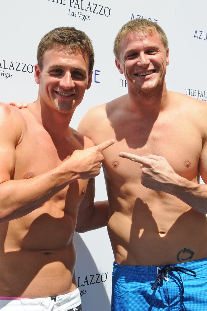 Ryan Lochte Heads to Vegas — For a Shirtless Pool Party, of Course!