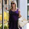 Reese Witherspoon Wearing a Purple Dress
