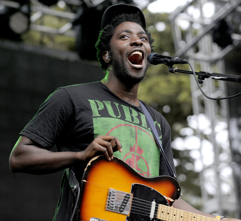 Bloc Party played a set on Sunday.