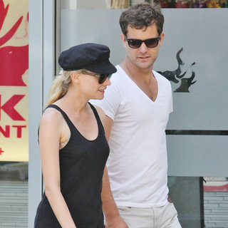Joshua Jackson and Diane Kruger Fashionable in Vancouver