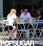 Kirsten Dunst and Garrett Hedlund had a brunch date.