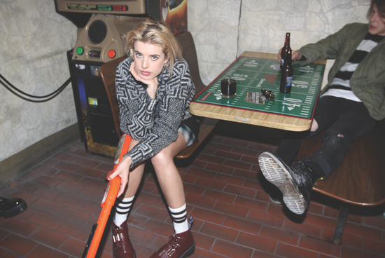 Agyness Deyn Dishes on Her Grungy Cool Clothing and Shoe Collection For Dr. Martens