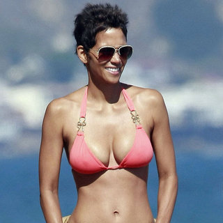 Halle Berry Bikini Arm Workout