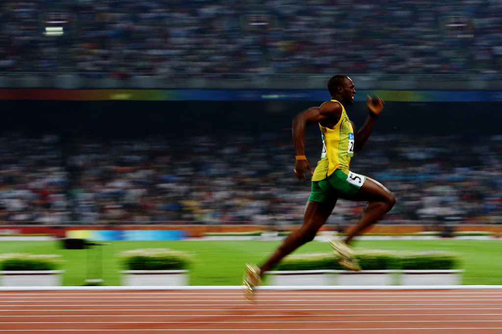 Usain Bolt's Lightning Speed