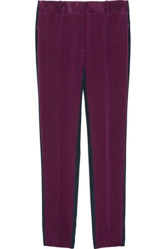 3.1 Phillip Lim|Two-tone silk crepe de chine pants|NET-A-PORTER.COM