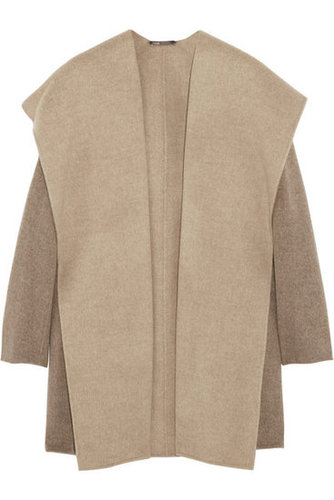 Vince | Hooded felted wool-blend coat | NET-A-PORTER.COM