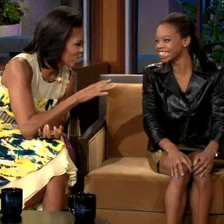 Michelle Obama and Gabby Douglas on the Tonight Show | Video