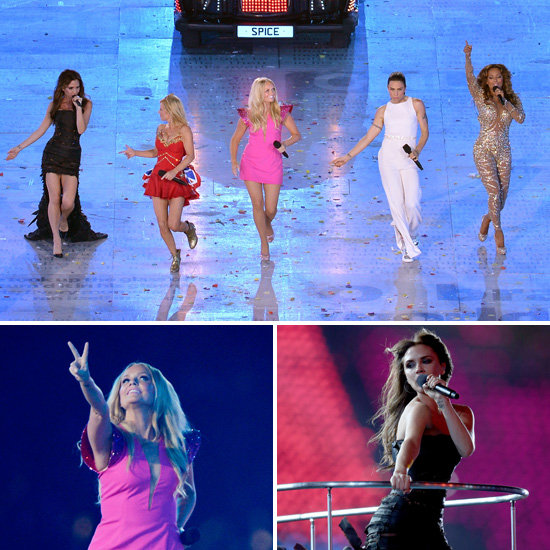 The Spice Girls Reunite to Spice Up the London Olympics Closing Ceremony!