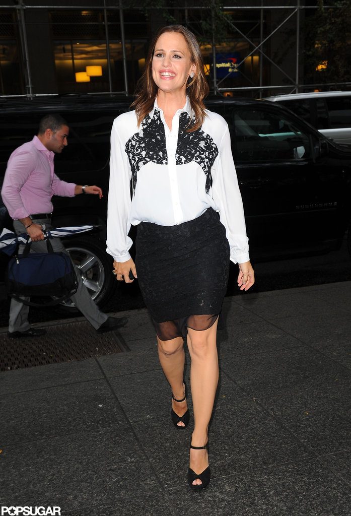 Jennifer Garner arrived at an NYC screening of The Odd Life of Timothy Green.