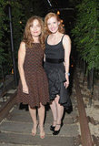 Jessica Chastain linked up with Isabelle Huppert at the afterparty of the screening of Lawless in NYC.