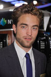 Robert Pattinson made a trip to the New York Stock Exchange.
