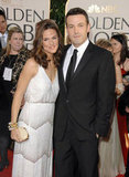 Jennifer Garner and Ben Affleck walked the red carpet together at the January 2007 Golden Globes.