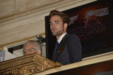Robert Pattinson was asked to open the New York Stock Exchange.