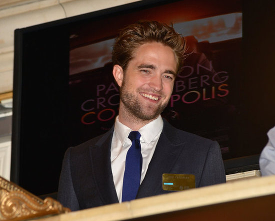 Robert Pattinson Rises Early to Ring the Stock Exchange Bell